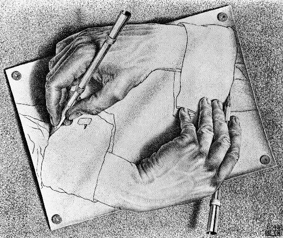 M.C.-Escher-Mani-che-disegnano